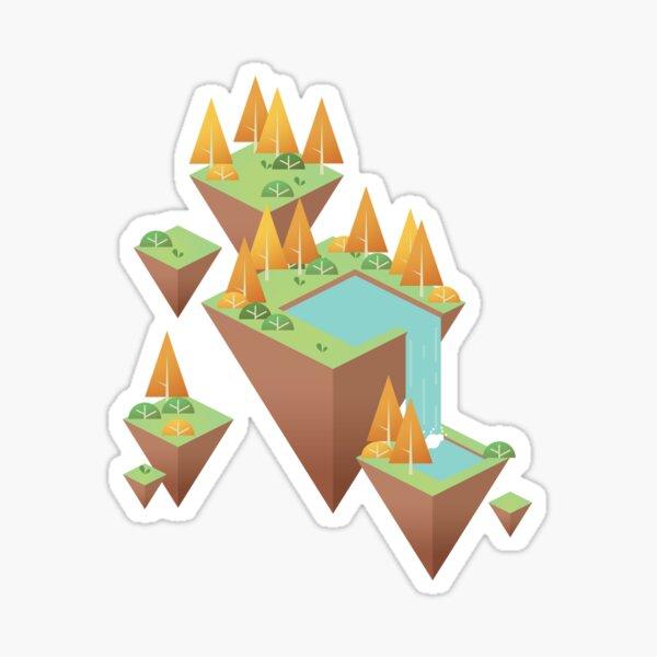 Les îles suspendues Sticker