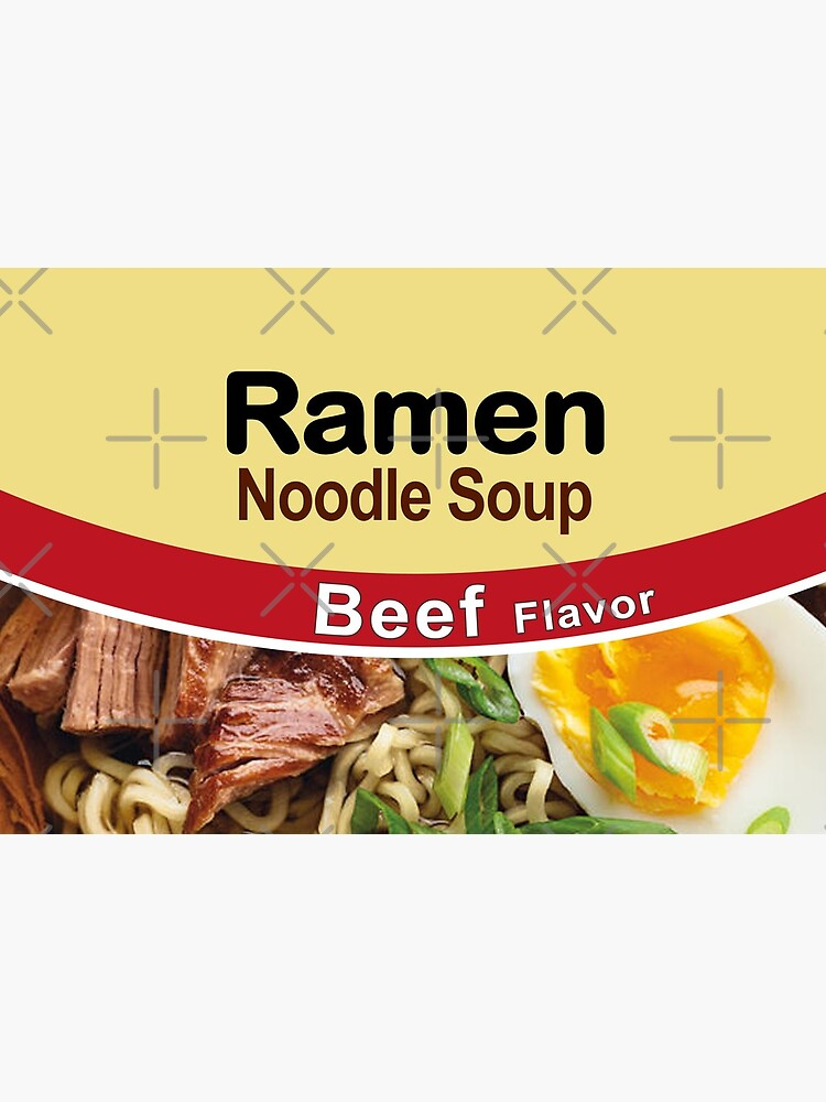Ramen Noodle Soup - Beef Flavor by mongolife