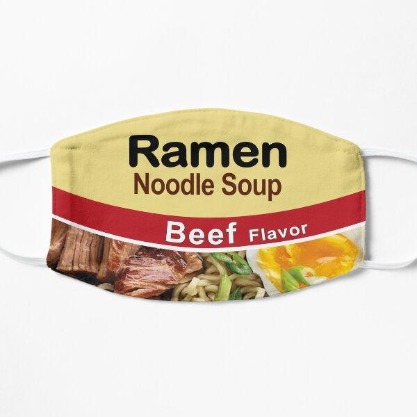 Ramen Noodle Soup - Beef Flavor Flat Mask