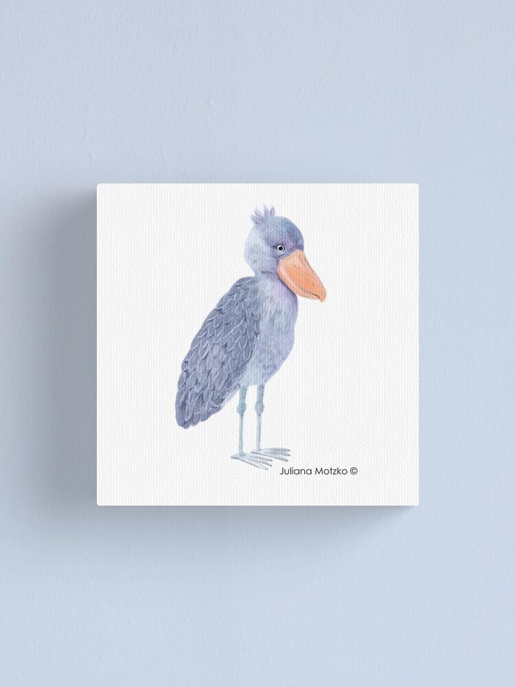 Alternate view of Shoebill Stork Canvas Print