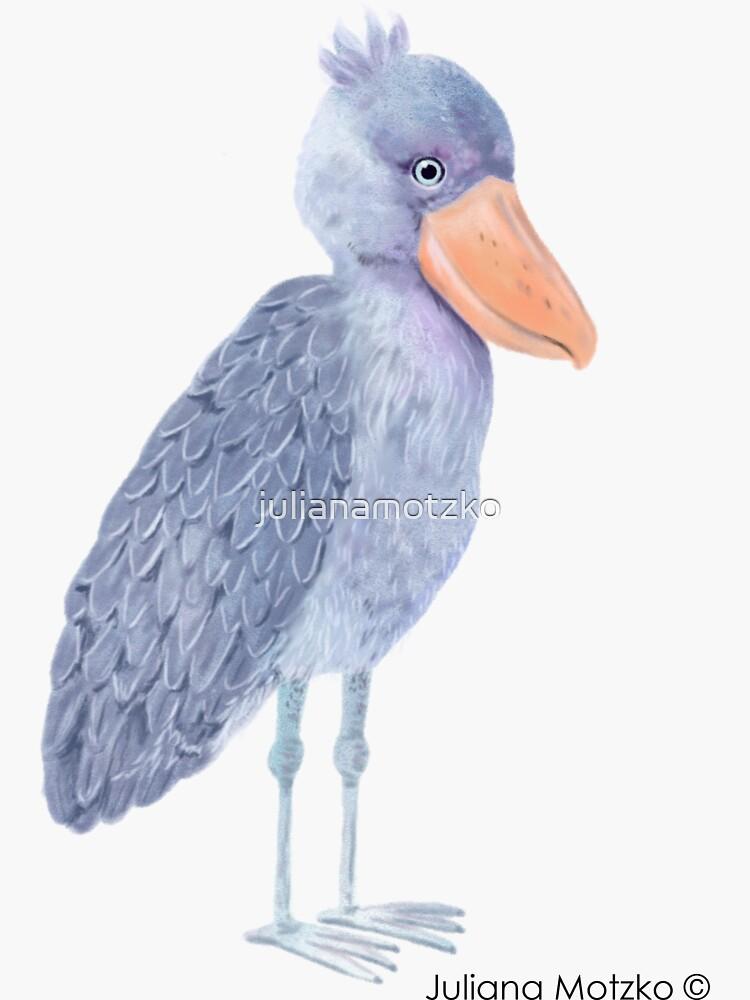 Shoebill Stork by julianamotzko