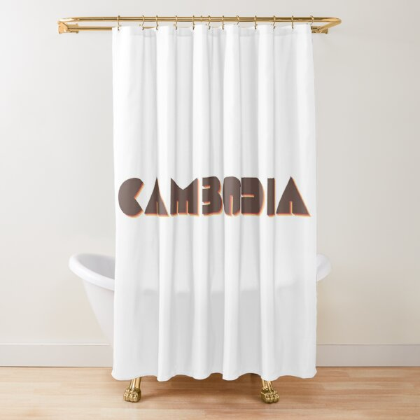 Cambodia! Shower Curtain