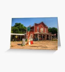 The Country Store - Aladdin, Wyoming Pop. 15 Greeting Card