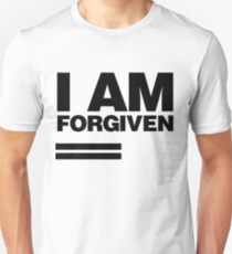I AM FORGIVEN (BLACK) Unisex T-Shirt