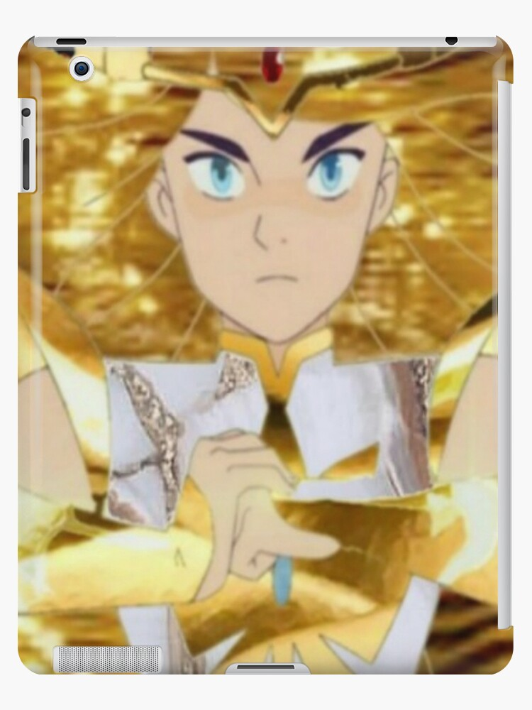 First She Ra Fanart Merch Princess Aesthetic Edit Ipad Case