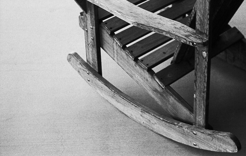 Grainy Old Adirondack Rocker by James2001