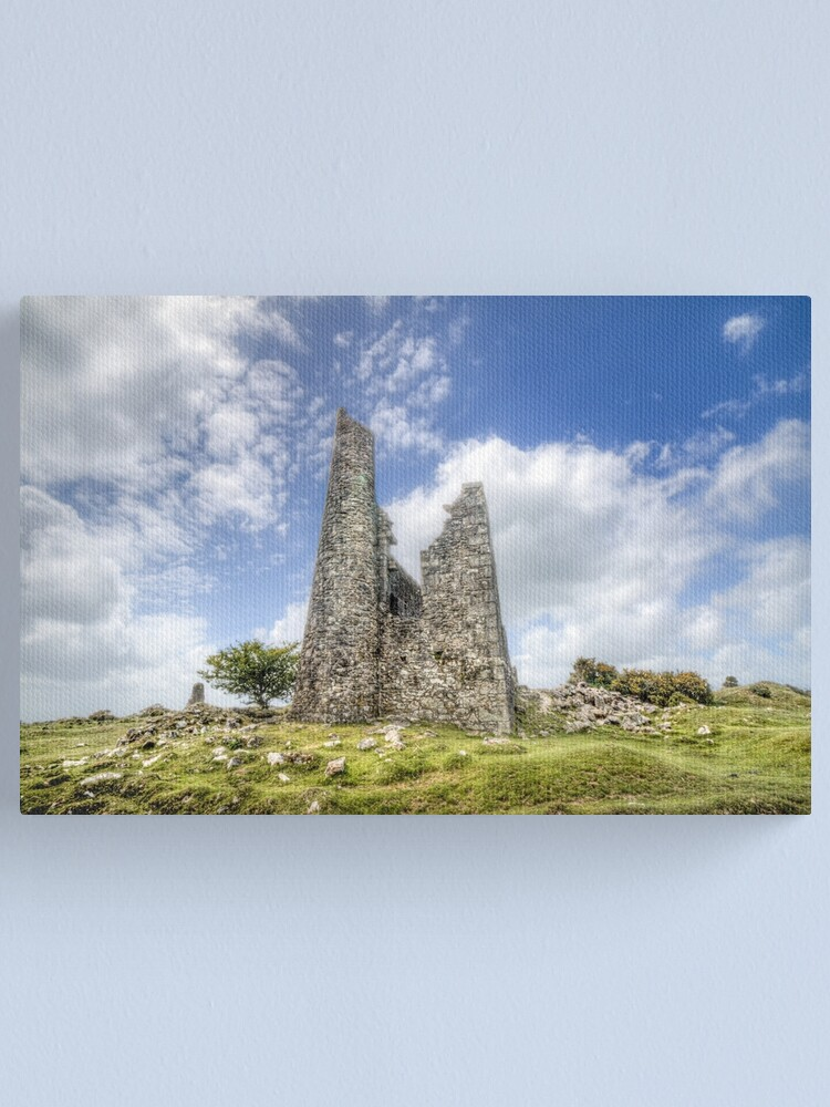 Alternate view of 22/05/20 - Engine House on the Moor Canvas Print