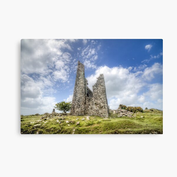 22/05/20 - Engine House on the Moor Canvas Print