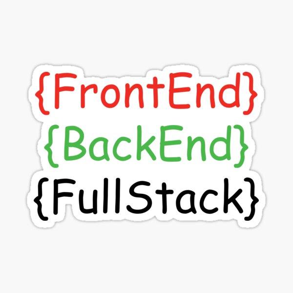 Developer role pattern Sticker