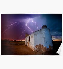 West Australian summer storms Poster