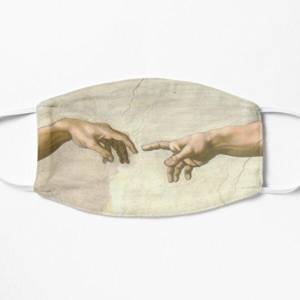 la création du masque zoomé d'Adam Masque sans plis