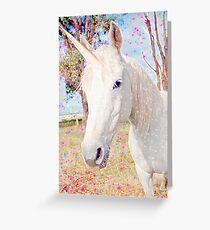 Avis's Unicorn Greeting Card