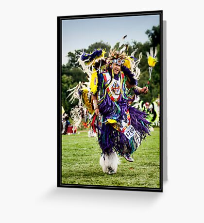 Joyful Dancer Greeting Card