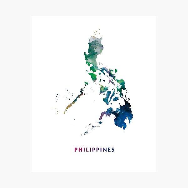 Philippines Photographic Print