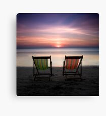 Go vacation Canvas Print