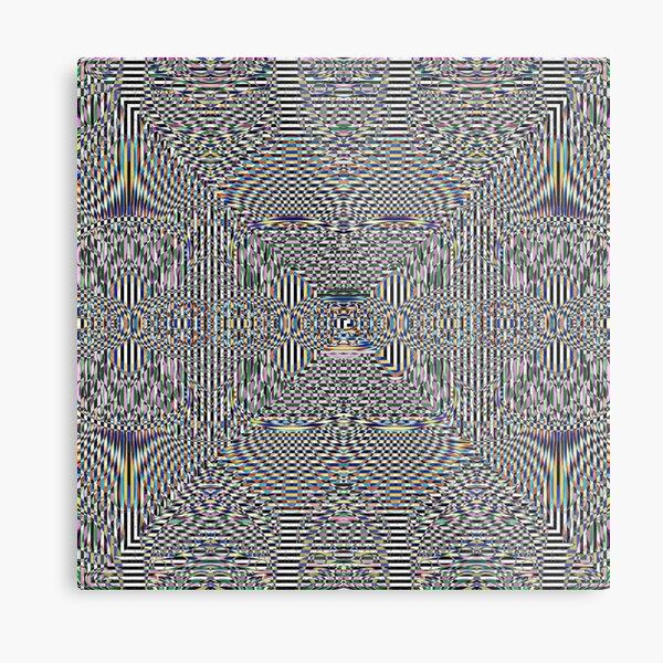 Motif, Visual arts, Psychedelic art Metal Print