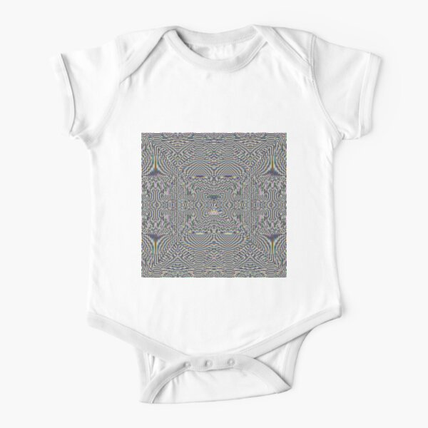 Motif, Visual arts, Psychedelic art Short Sleeve Baby One-Piece