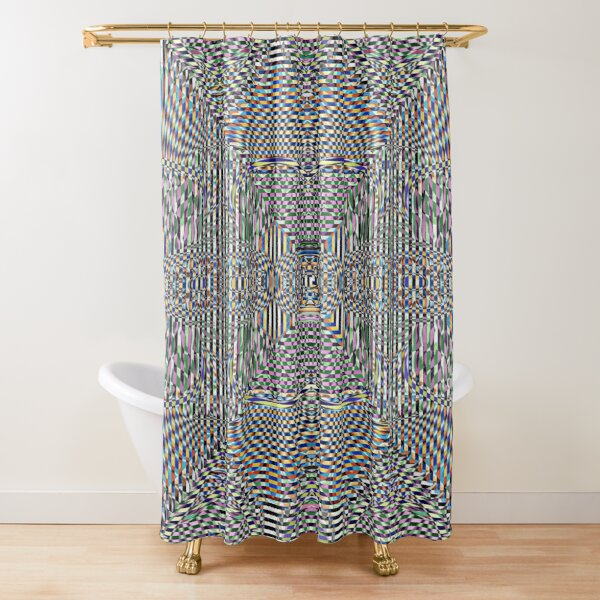 Motif, Visual arts, Psychedelic art Shower Curtain