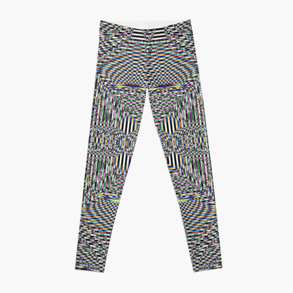 Motif, Visual arts, Psychedelic art Leggings