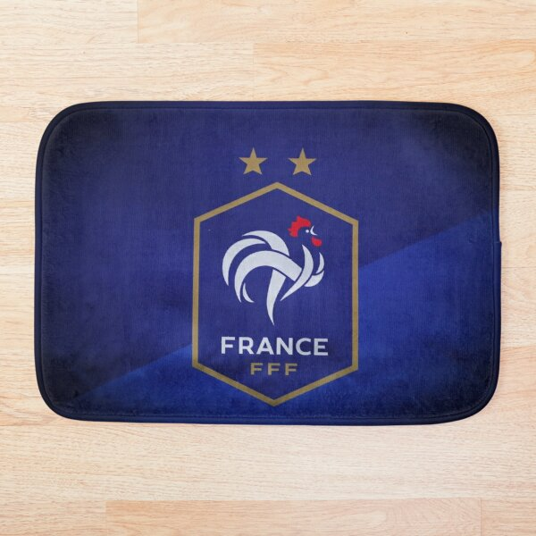 French Football Federation rope bag Bath Mat