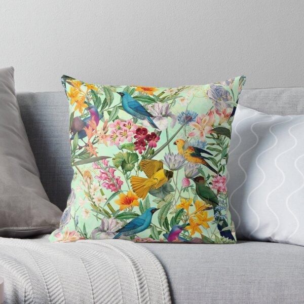 Tropical Paradise II Throw Pillow