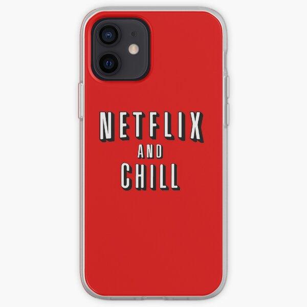 Netflix und Chill iPhone Flexible Hülle