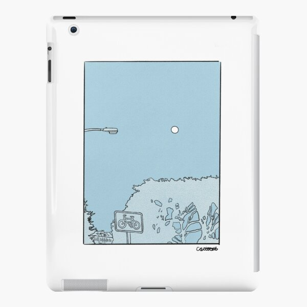 Blue Sky Moon Rise  iPad Snap Case