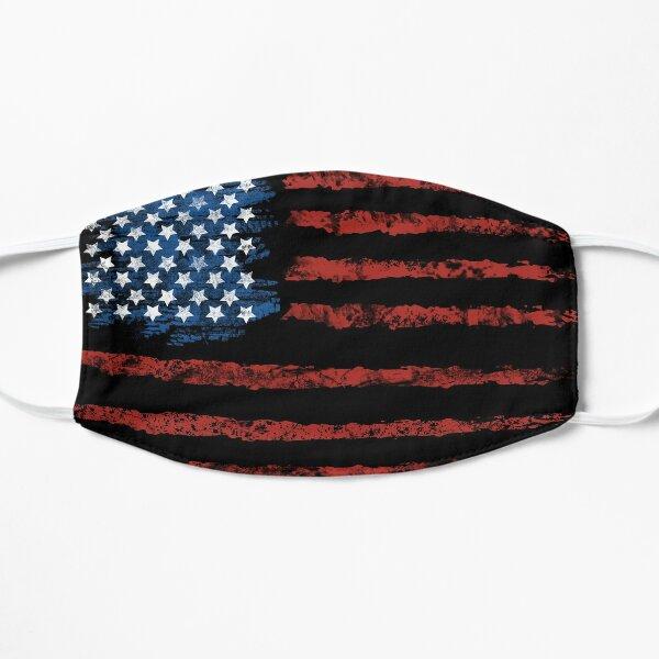 Black American Flag Mask Mask