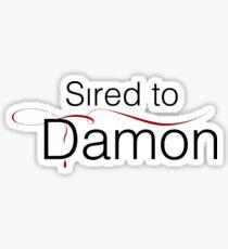 Sired to Damon Sticker