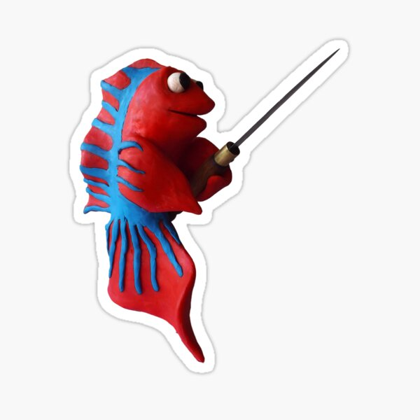 Swordfish Solo 1 Sticker