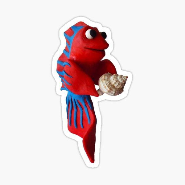 Shellfish Solo 1 Sticker