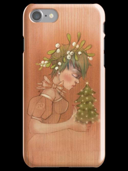 Girl 59   Mistletoe by Erica Rosario