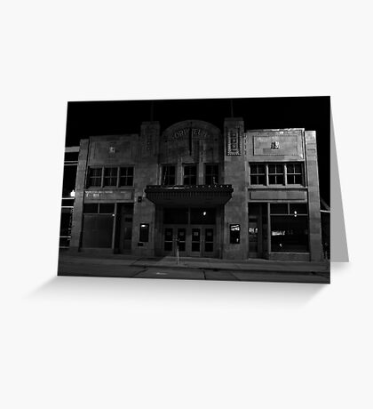 The Old Orpheum Theater Greeting Card
