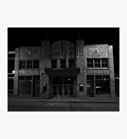The Old Orpheum Theater Photographic Print