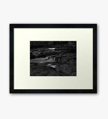 The Middle Section of the Sioux Falls Framed Print