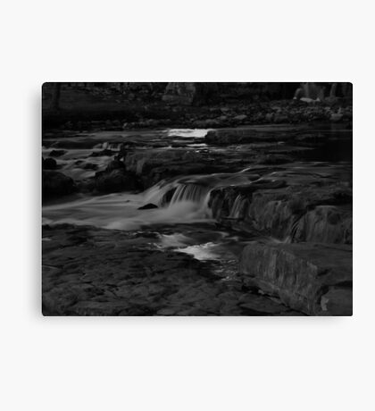 The Middle Section of the Sioux Falls Canvas Print
