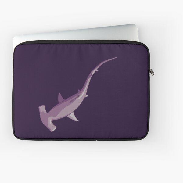 Shark Series - Let's Play In The Dark - No Text Laptop Sleeve