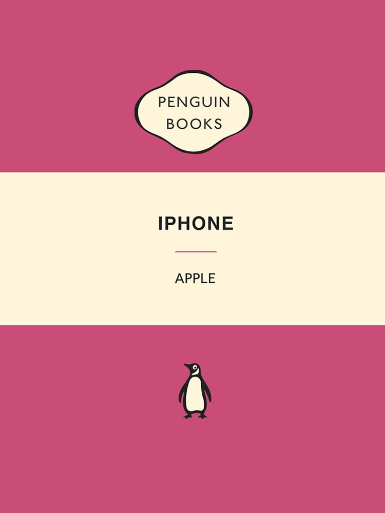 Iphone Penguin Classic Case - Pink by tinyloud