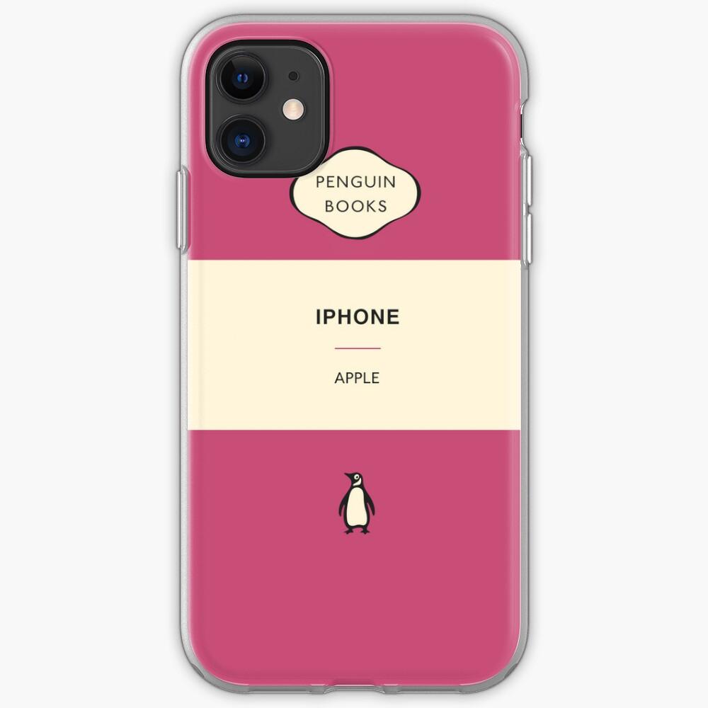 Iphone Penguin Classic Case - Pink iPhone Case & Cover