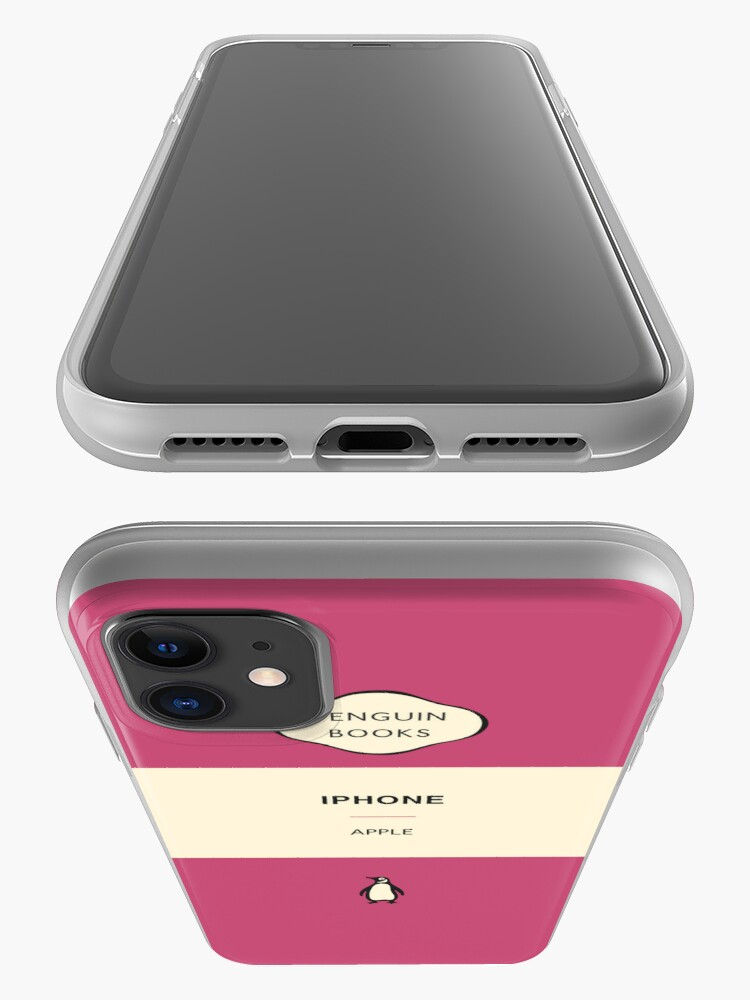 Alternate view of Iphone Penguin Classic Case - Pink iPhone Case & Cover