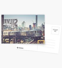 7 Train and Silvercup Studios Postcards