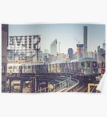 7 Train and Silvercup Studios Poster