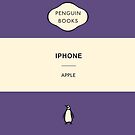 Iphone Penguin Classic Case Purple by Simon Westlake