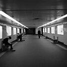 flinders underpass by James Ruff