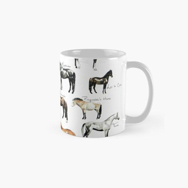 Rare Horse Breeds ABC  Classic Mug