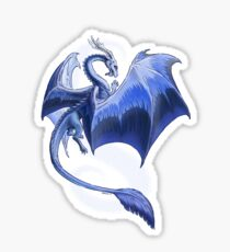 The Dragon of Winter Sticker