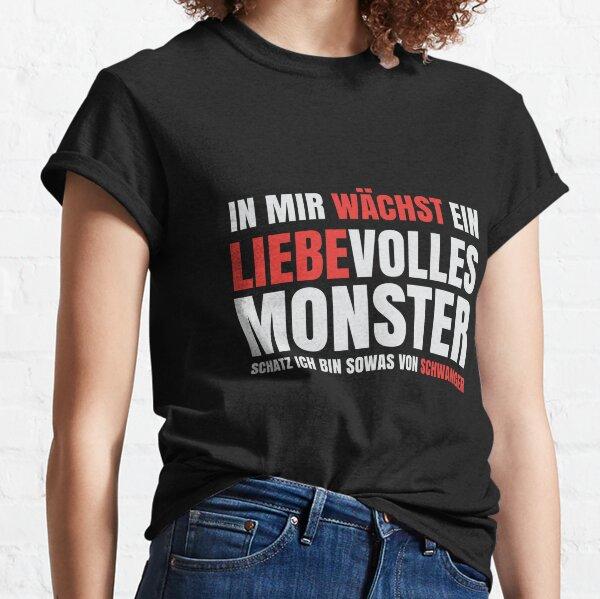 T-Shirt für Schwangere - In mir wächst ein Monster Classic T-Shirt