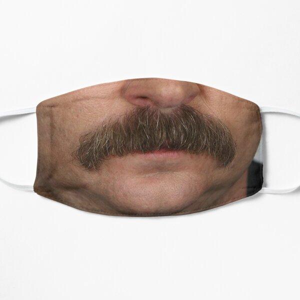 Masque Ron Swanson Masque sans plis