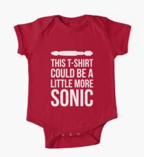 Sonic T-shirt Kids Clothes