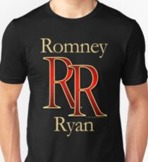 RR Romney Ryan Luxury Look T-Shirt T-Shirt